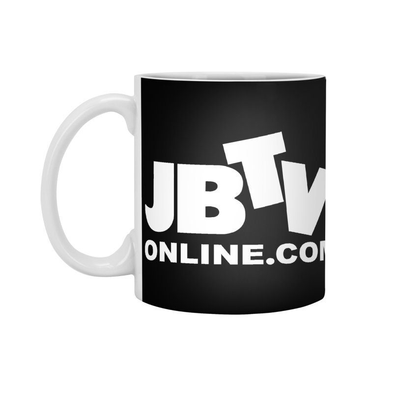 JBTV White Logo Accessories Standard Mug by JBTV
