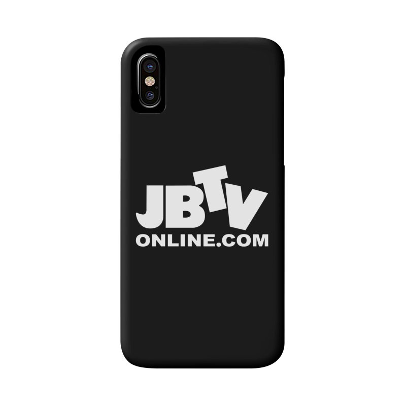 JBTV White Logo Accessories Phone Case by JBTV's Artist Shop