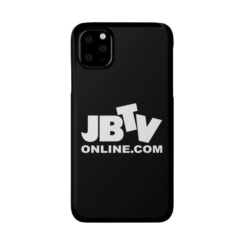 JBTV White Logo Accessories Phone Case by JBTV