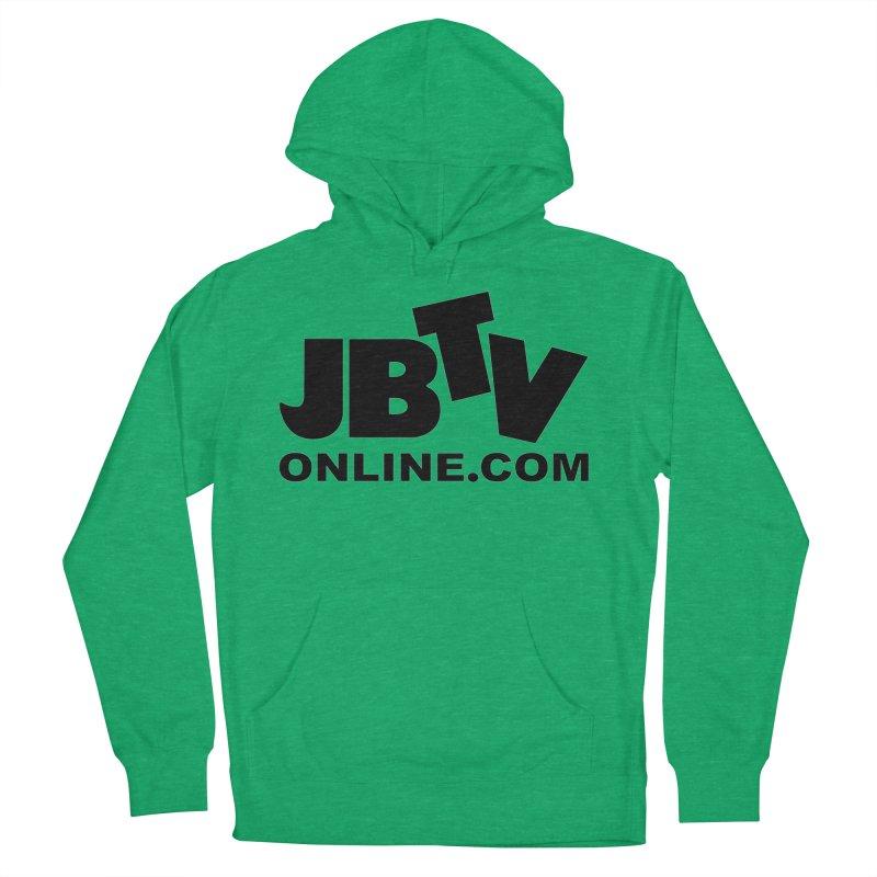 JBTV Black Logo Women's Pullover Hoody by JBTV's Artist Shop