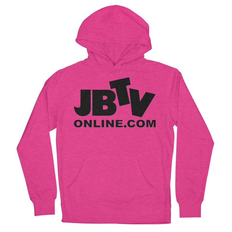 JBTV Black Logo Men's Pullover Hoody by JBTV's Artist Shop