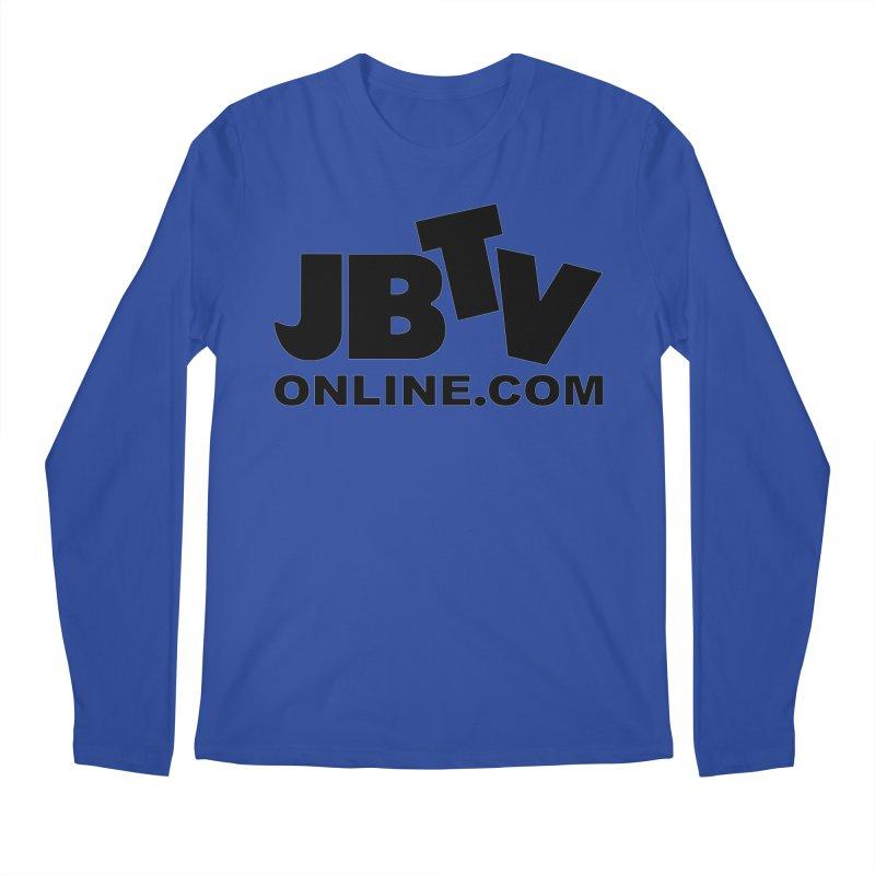JBTV Black Logo Men's Regular Longsleeve T-Shirt by JBTV's Artist Shop