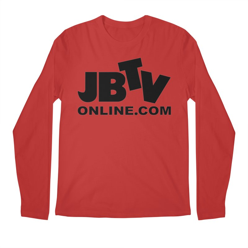 JBTV Black Logo Men's Longsleeve T-Shirt by JBTV's Artist Shop
