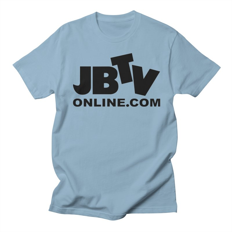 JBTV Black Logo Women's Regular Unisex T-Shirt by JBTV