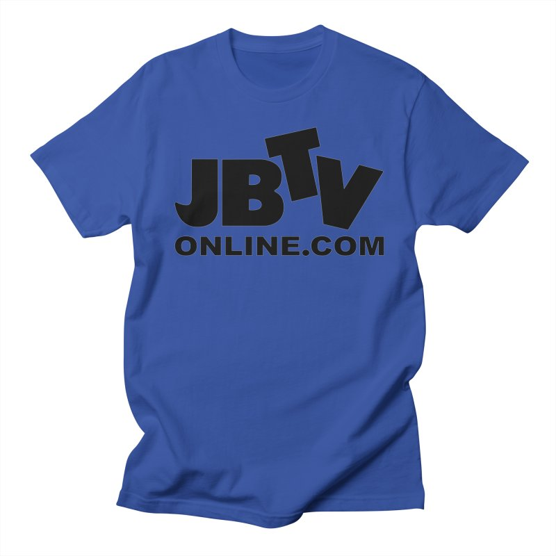 JBTV Black Logo Women's Unisex T-Shirt by JBTV's Artist Shop