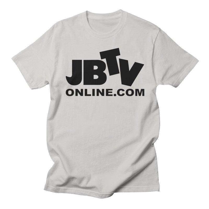 JBTV Black Logo Women's Regular Unisex T-Shirt by JBTV