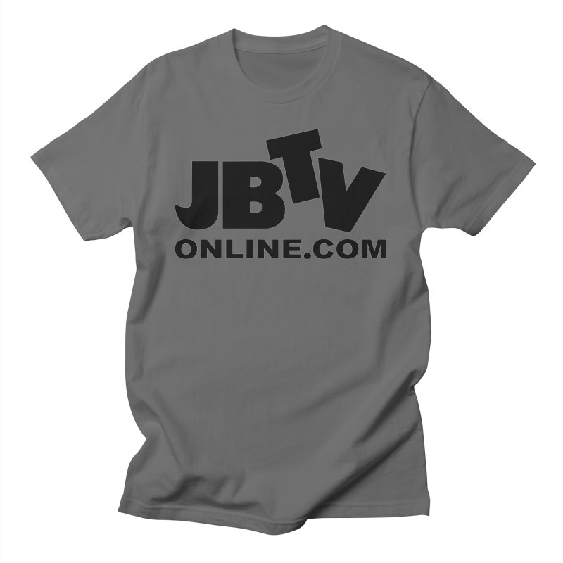 JBTV Black Logo Women's T-Shirt by JBTV