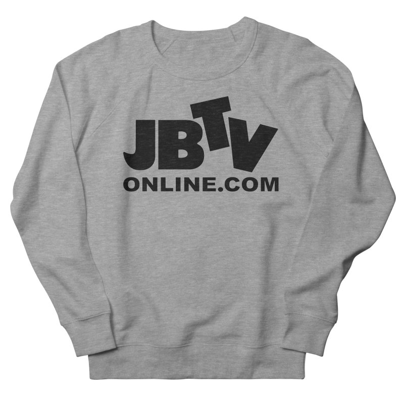 JBTV Black Logo Men's French Terry Sweatshirt by JBTV