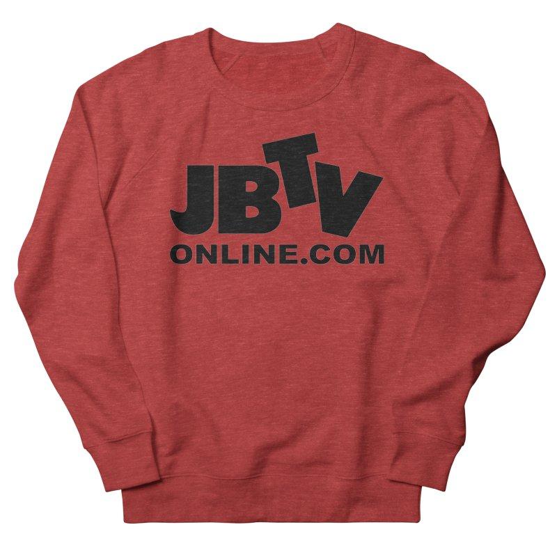 JBTV Black Logo Men's French Terry Sweatshirt by JBTV's Artist Shop