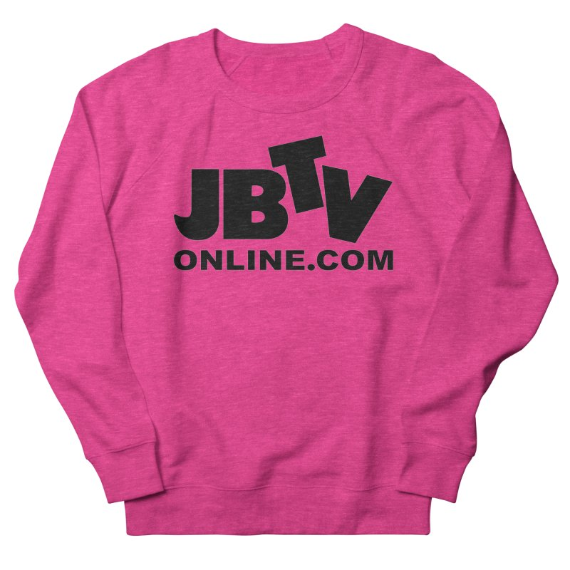 JBTV Black Logo Men's Sweatshirt by JBTV's Artist Shop