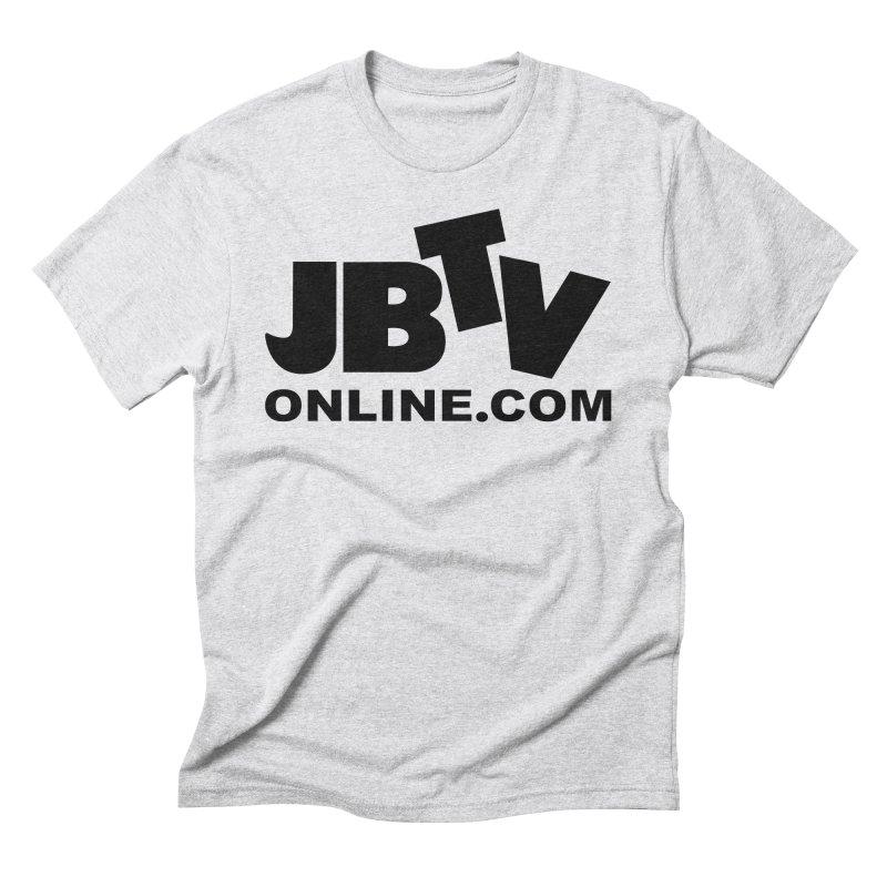 JBTV Black Logo Men's Triblend T-Shirt by JBTV