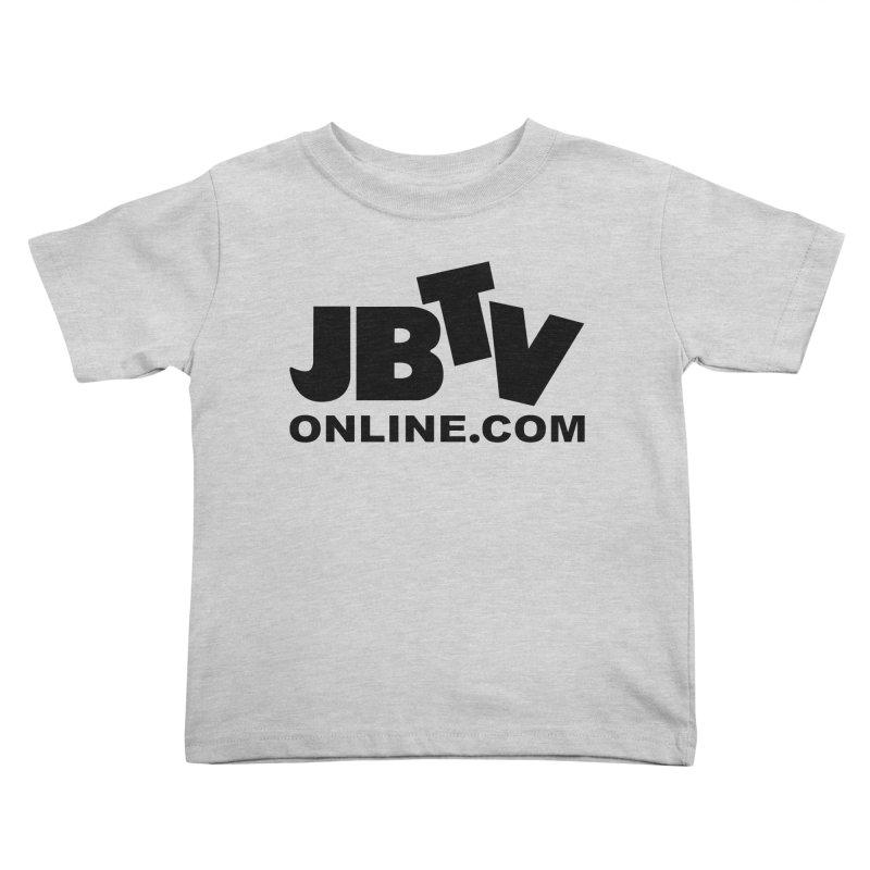 JBTV Black Logo Kids Toddler T-Shirt by JBTV