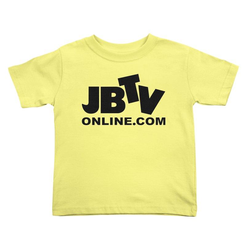JBTV Black Logo Kids Toddler T-Shirt by JBTV's Artist Shop