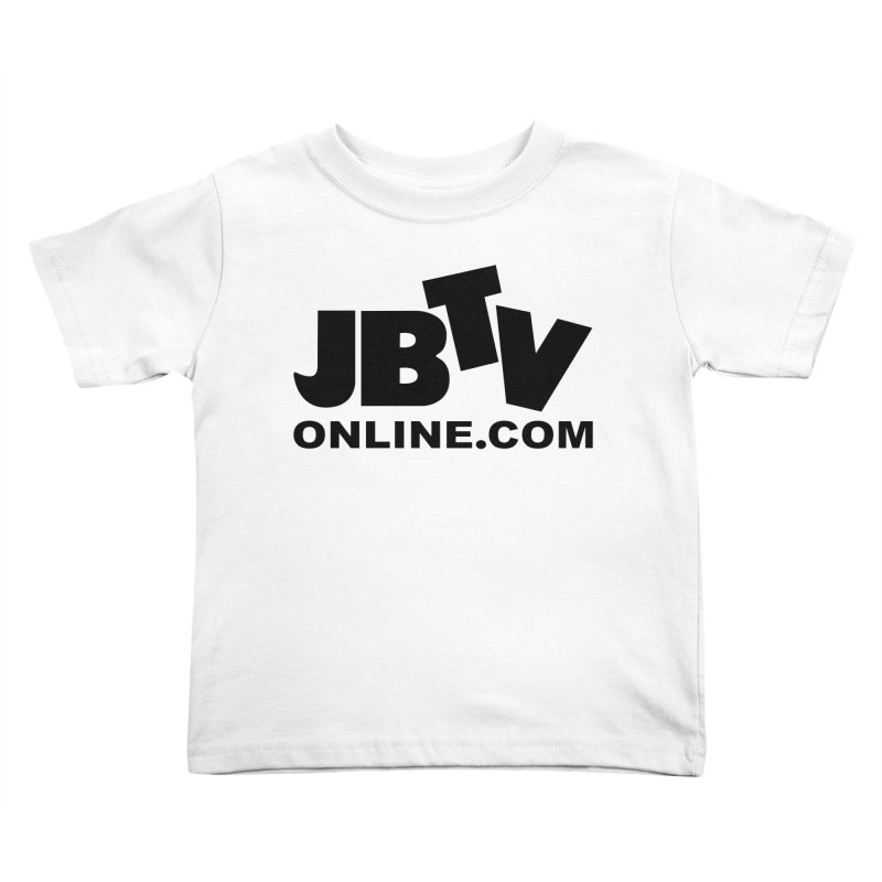 JBTV Black Logo Kids Toddler T-Shirt by JBTV
