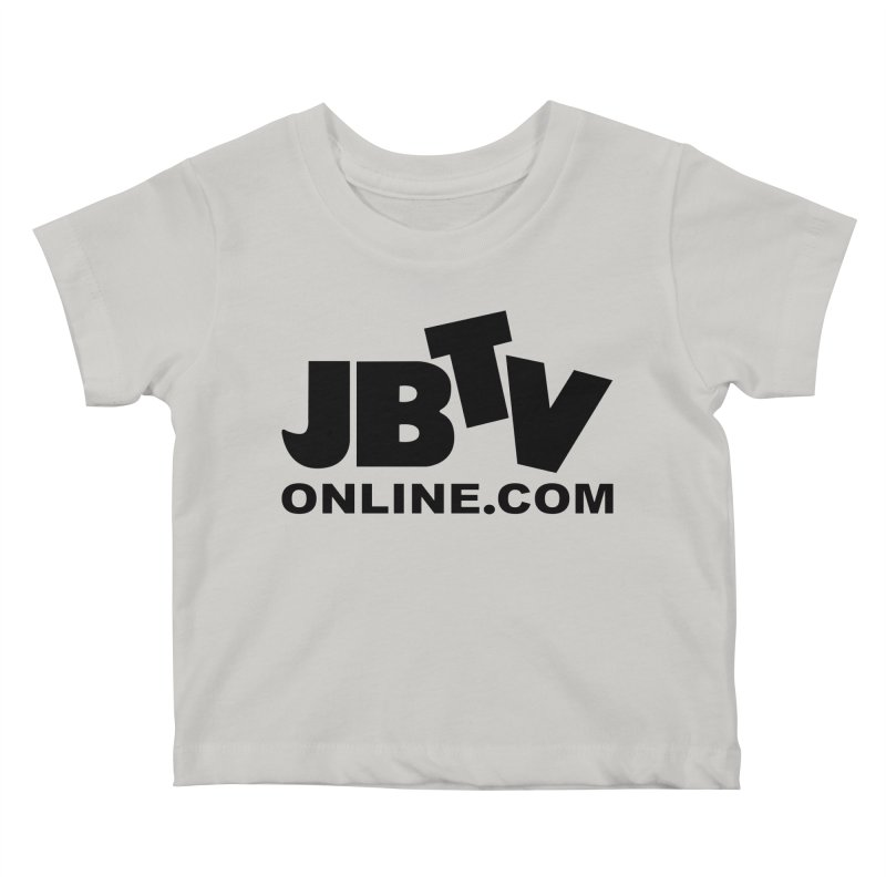 JBTV Black Logo Kids Baby T-Shirt by JBTV's Artist Shop