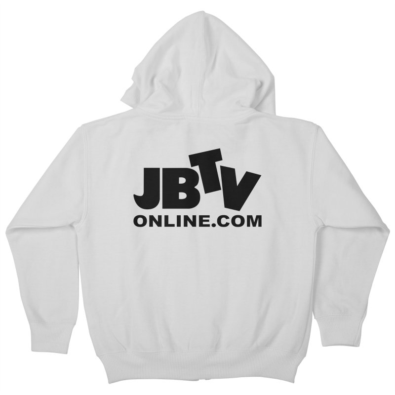 JBTV Black Logo Kids Zip-Up Hoody by JBTV's Artist Shop