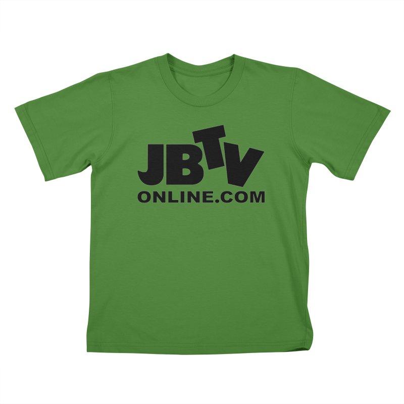 JBTV Black Logo Kids T-shirt by JBTV's Artist Shop