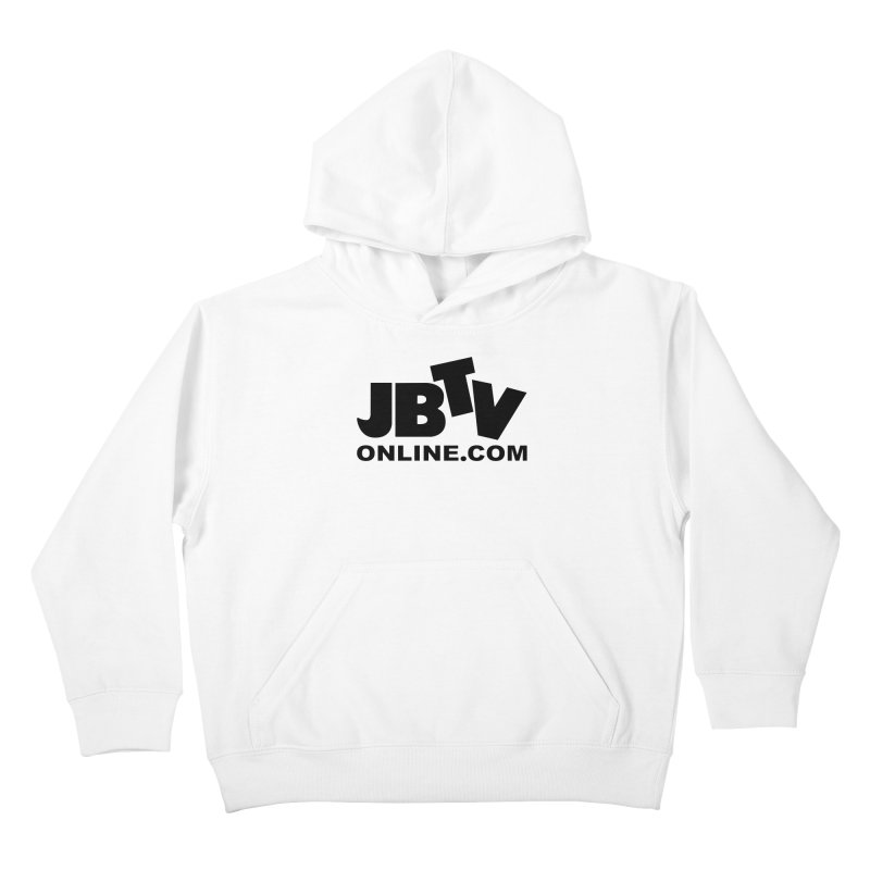 JBTV Black Logo Kids Pullover Hoody by JBTV