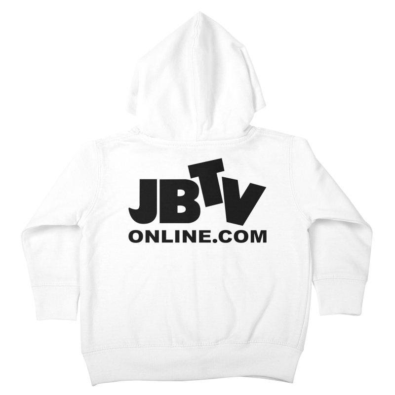 JBTV Black Logo Kids Toddler Zip-Up Hoody by JBTV's Artist Shop