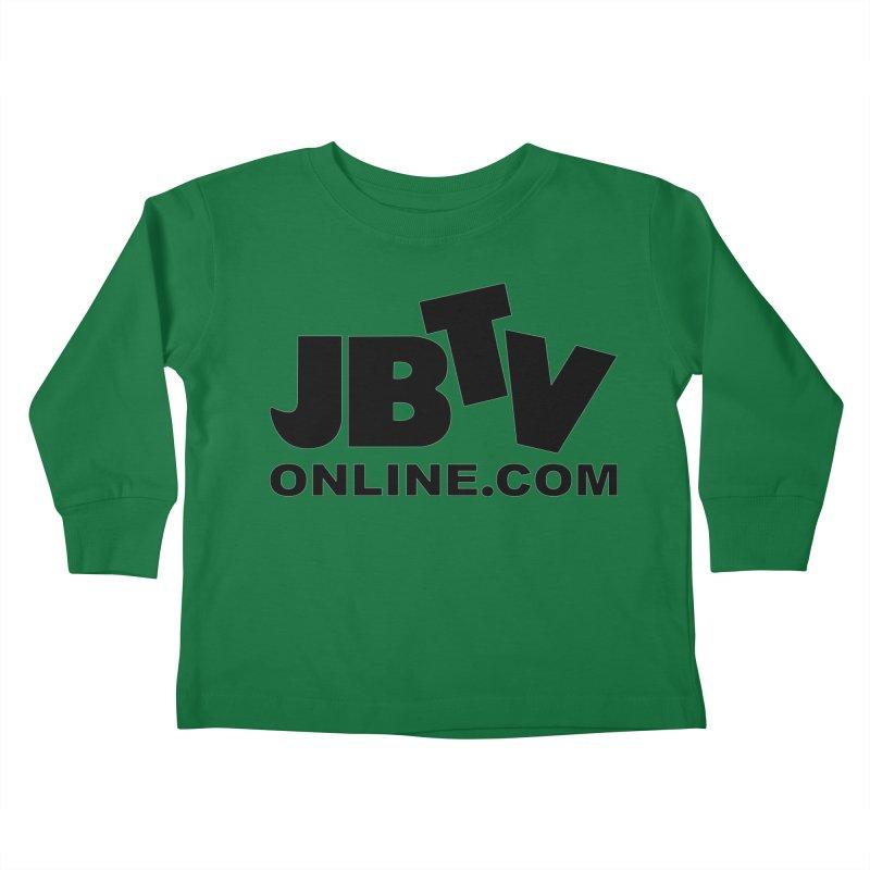JBTV Black Logo Kids Toddler Longsleeve T-Shirt by JBTV