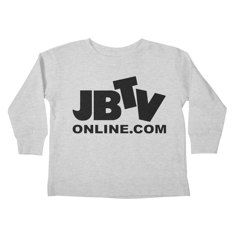 JBTV Black Logo Kids Toddler Longsleeve T-Shirt by JBTV's Artist Shop