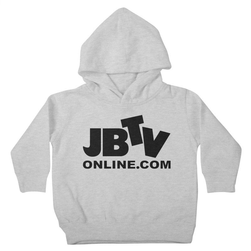 JBTV Black Logo Kids Toddler Pullover Hoody by JBTV