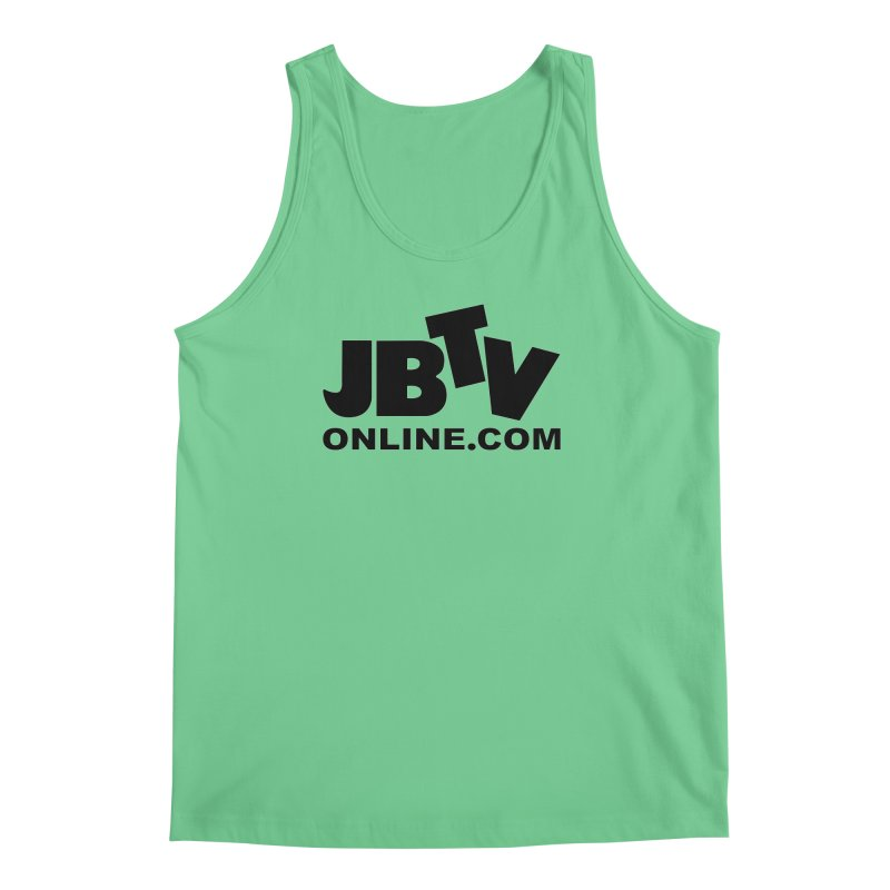 JBTV Black Logo Men's Tank by JBTV's Artist Shop