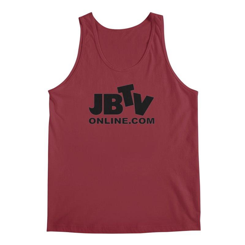 JBTV Black Logo Men's Regular Tank by JBTV's Artist Shop