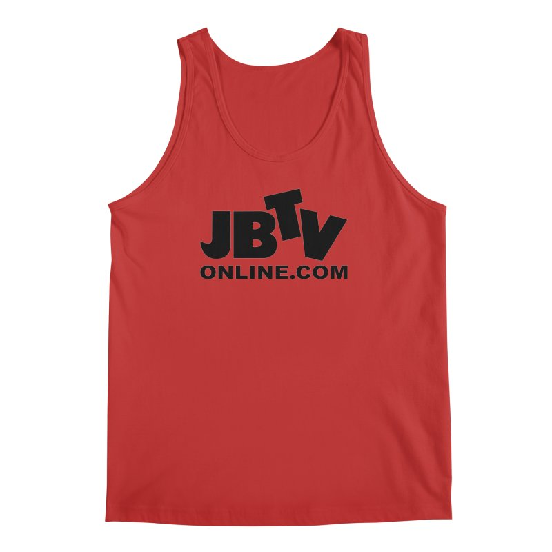 JBTV Black Logo Men's Regular Tank by JBTV