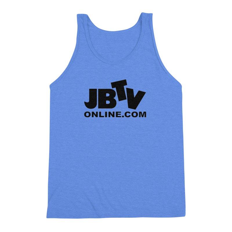 JBTV Black Logo Men's Triblend Tank by JBTV's Artist Shop