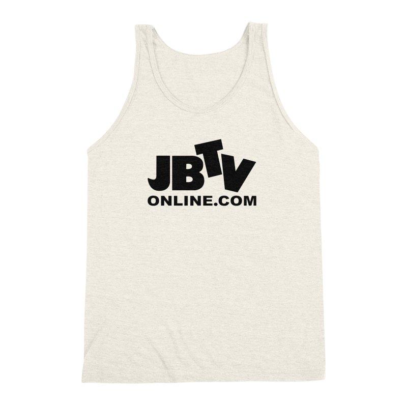 JBTV Black Logo Men's Triblend Tank by JBTV