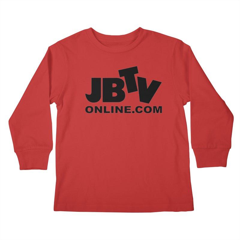 JBTV Black Logo Kids Longsleeve T-Shirt by JBTV