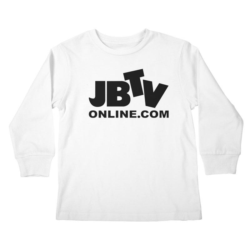 JBTV Black Logo Kids Longsleeve T-Shirt by JBTV's Artist Shop