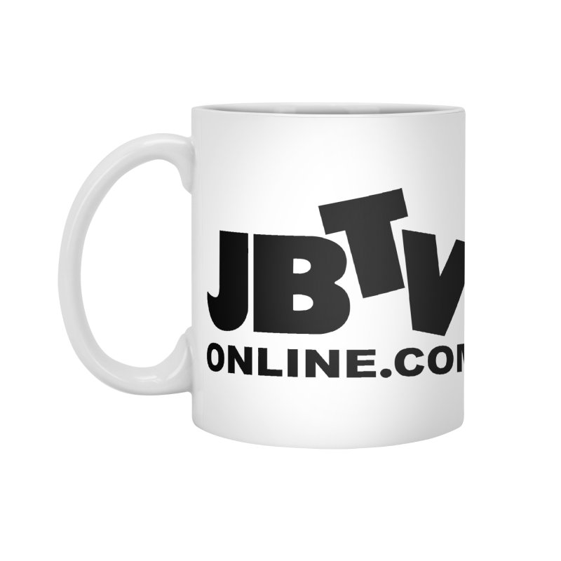 JBTV Black Logo Accessories Standard Mug by JBTV