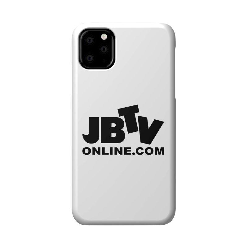 JBTV Black Logo Accessories Phone Case by JBTV