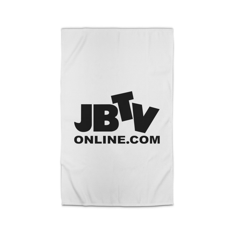JBTV Black Logo Home Rug by JBTV's Artist Shop