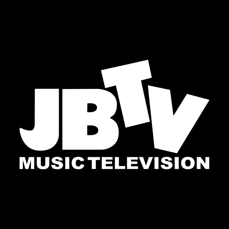 JBTV Music Television White Men's Pullover Hoody by JBTV