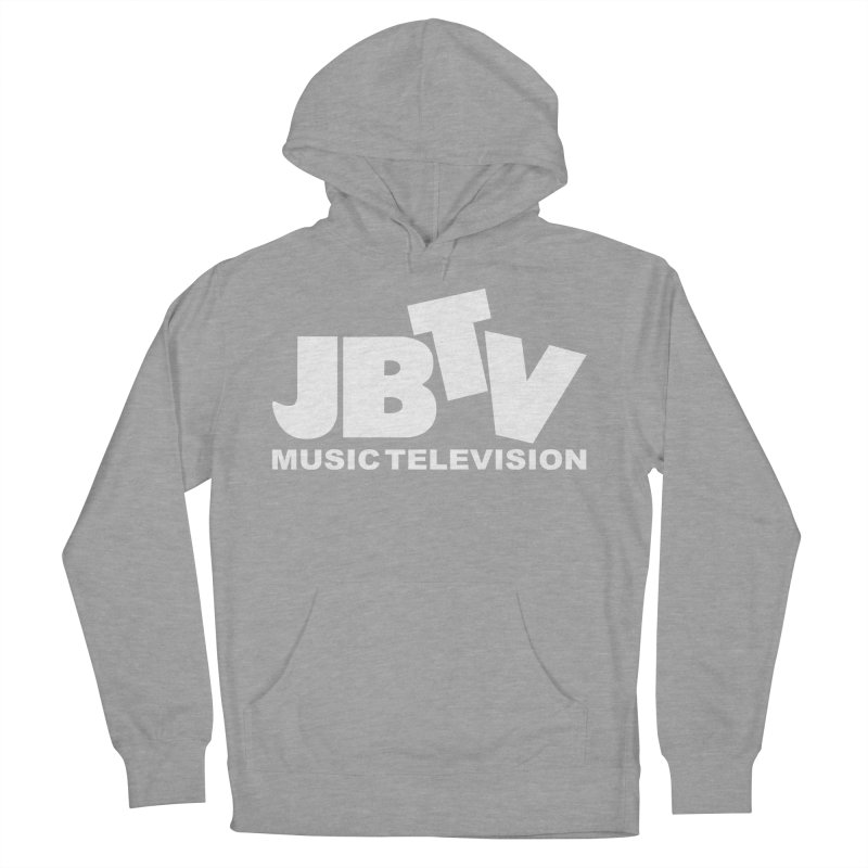 JBTV Music Television White Women's Pullover Hoody by JBTV