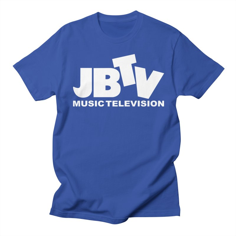 JBTV Music Television White Men's T-Shirt by JBTV's Artist Shop