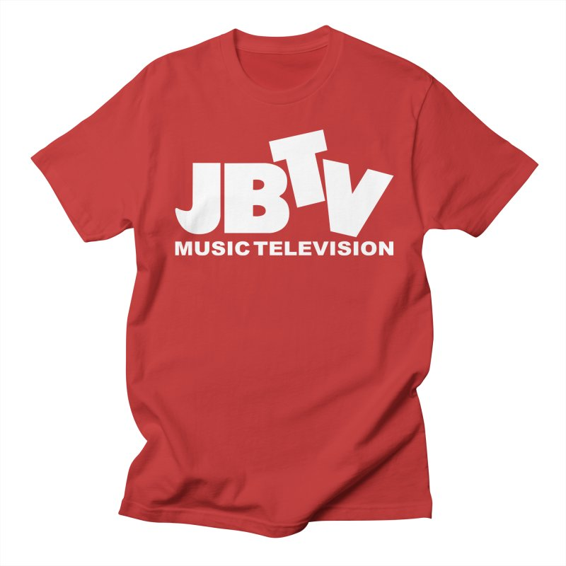 JBTV Music Television White Men's T-Shirt by JBTV
