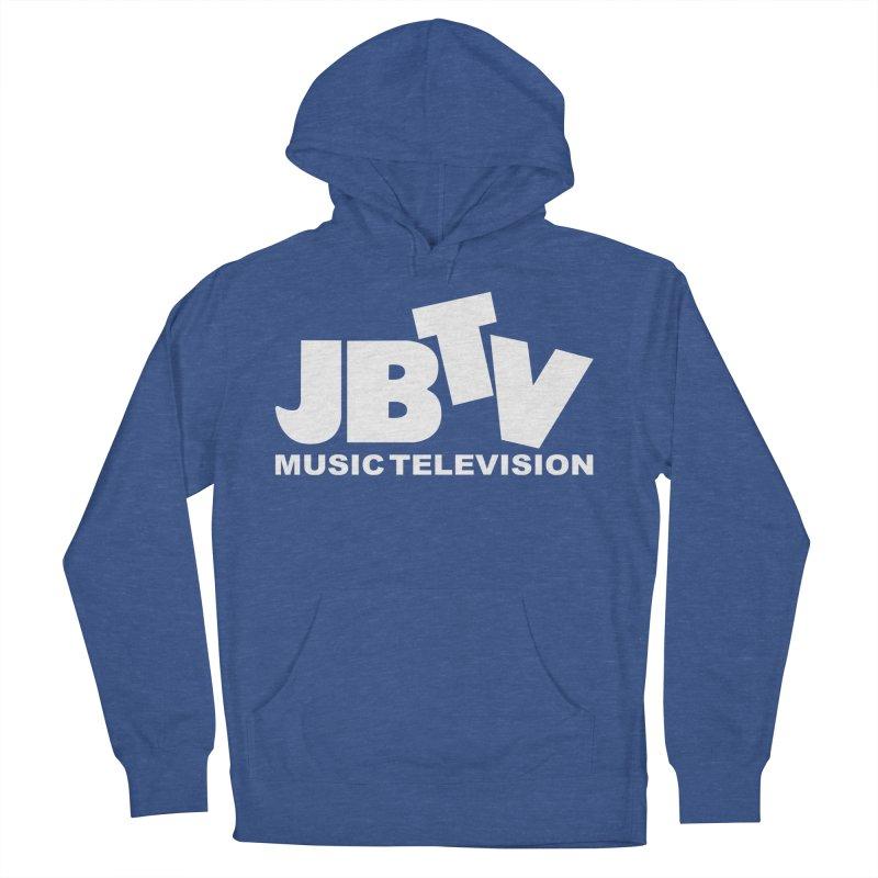 JBTV Music Television White Women's Pullover Hoody by JBTV's Artist Shop