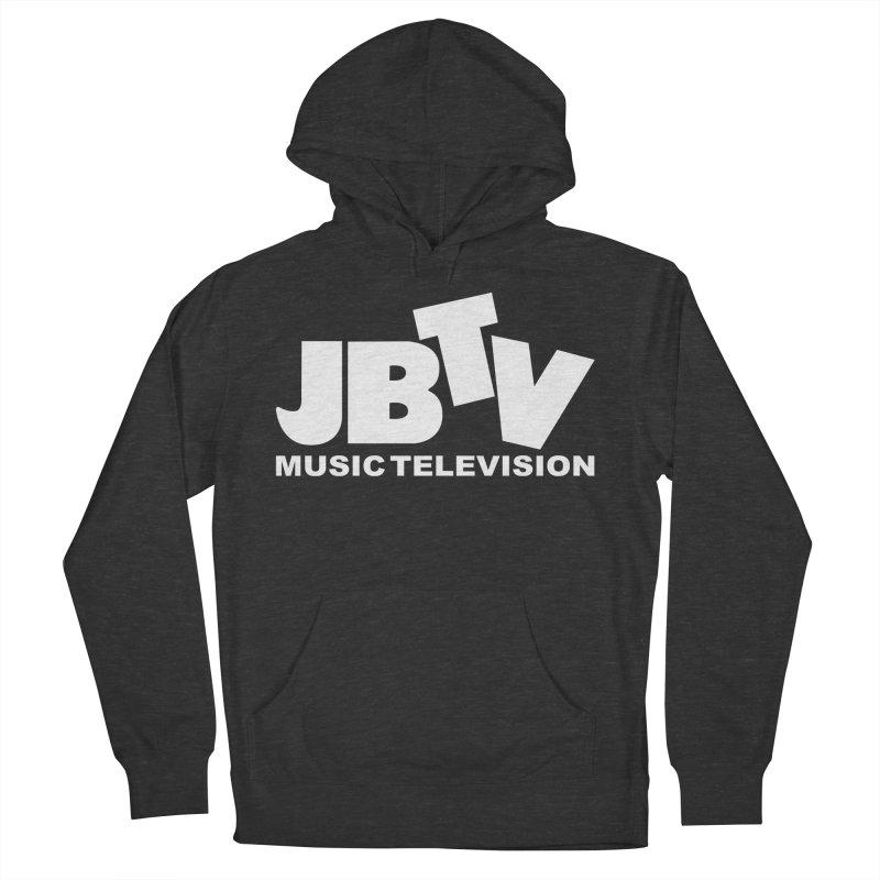 JBTV Music Television White Men's French Terry Pullover Hoody by JBTV