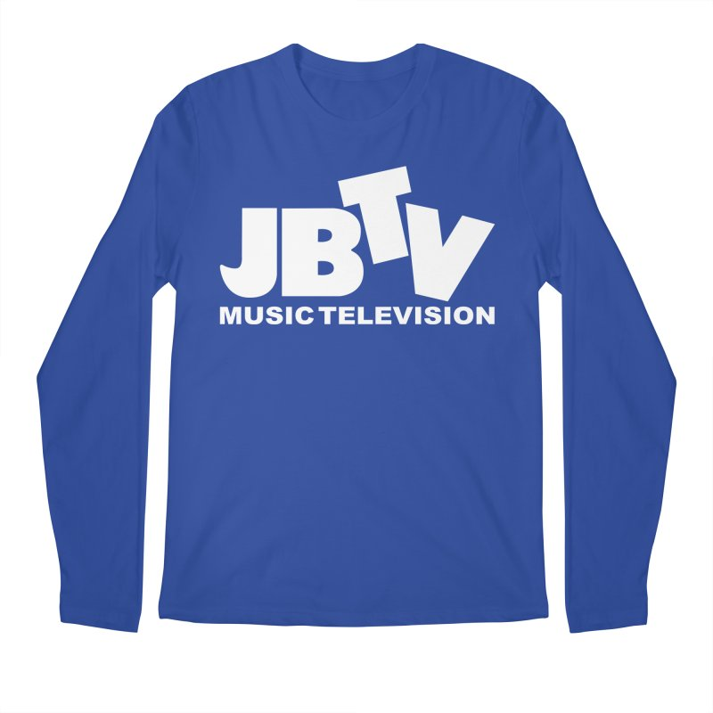 JBTV Music Television White Men's Regular Longsleeve T-Shirt by JBTV's Artist Shop