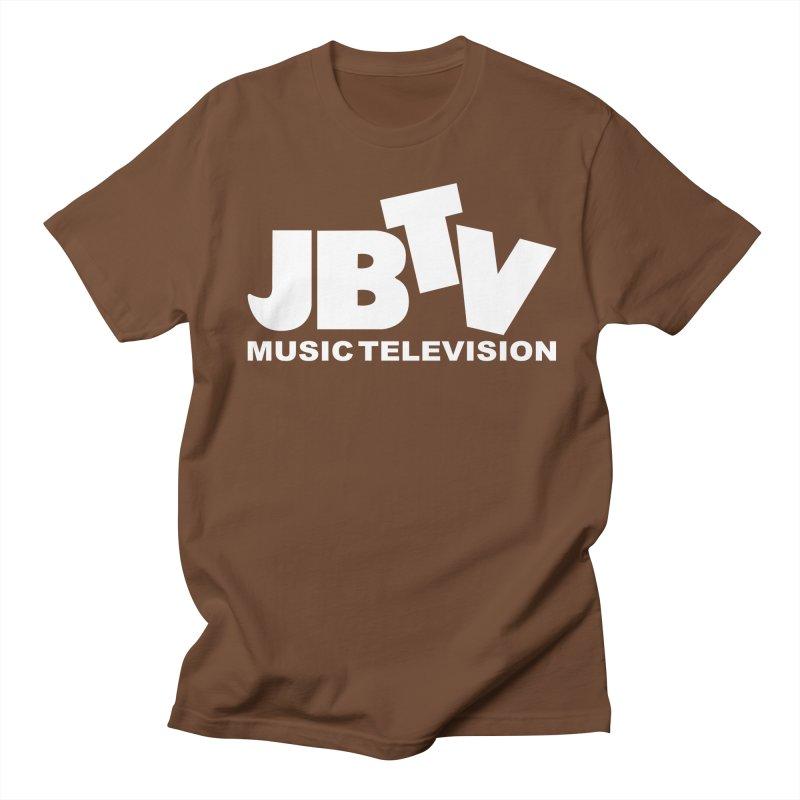 JBTV Music Television White Women's Unisex T-Shirt by JBTV's Artist Shop