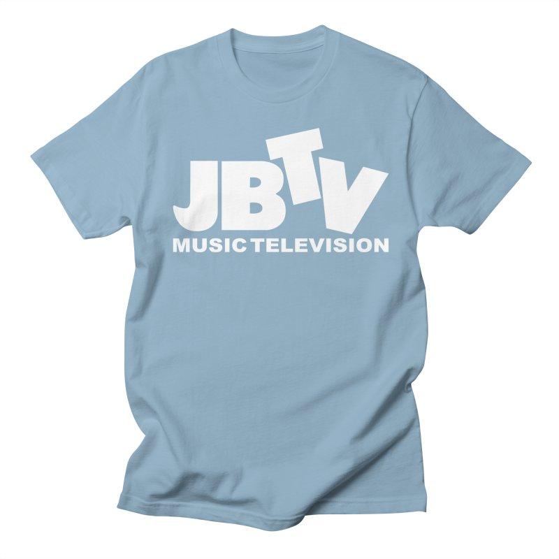 JBTV Music Television White Women's Regular Unisex T-Shirt by JBTV's Artist Shop