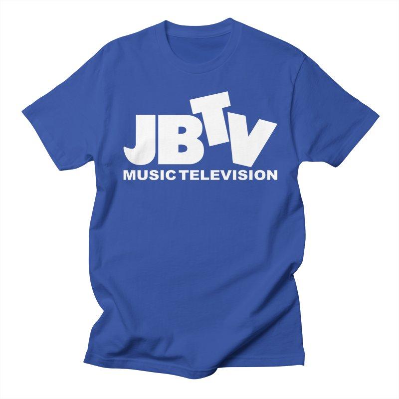 JBTV Music Television White Men's Regular T-Shirt by JBTV's Artist Shop