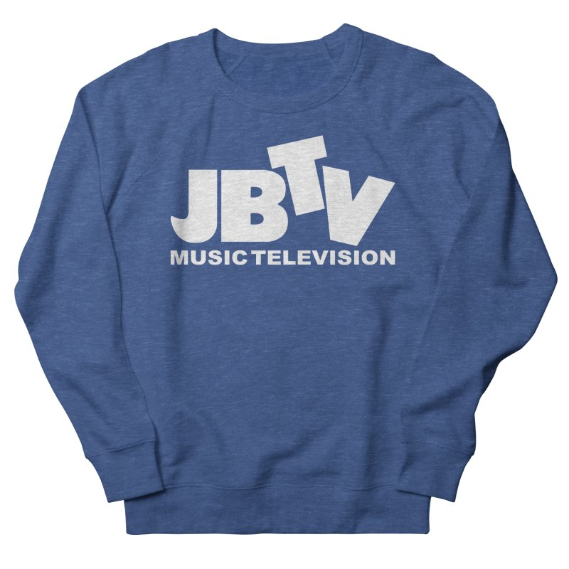 JBTV Music Television White Women's Sweatshirt by JBTV's Artist Shop