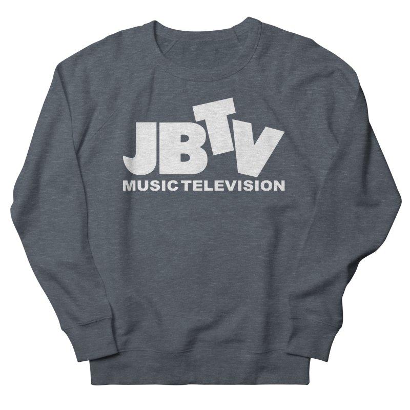 JBTV Music Television White Women's French Terry Sweatshirt by JBTV
