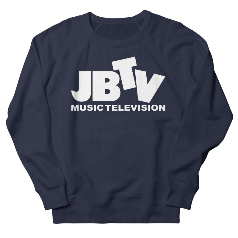 JBTV Music Television White Women's Sweatshirt by JBTV's Artist Shop