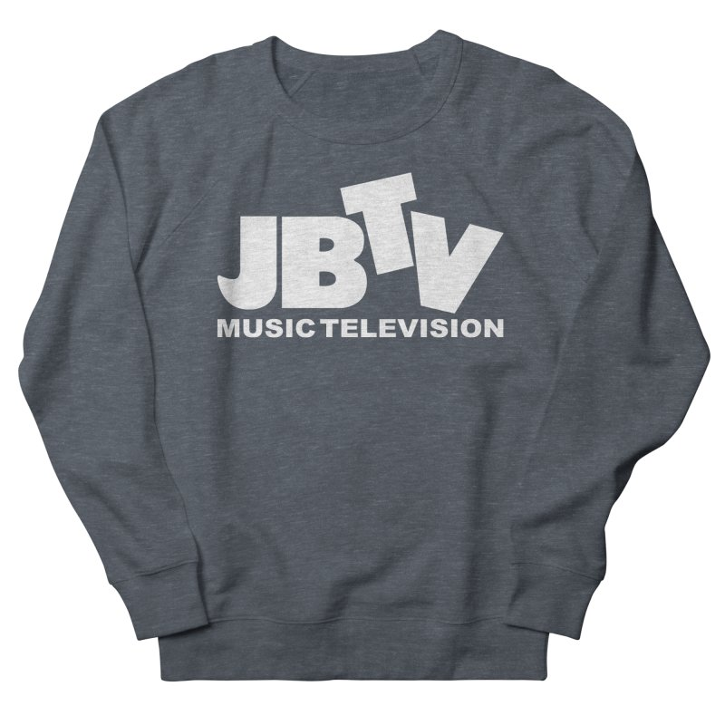 JBTV Music Television White Men's French Terry Sweatshirt by JBTV